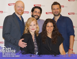 The Cast and Director of Theresa Rebeck's Poor Behavior