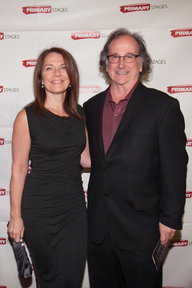 Christa Justus and Mark Linn-Baker. Primary Stages 30th Anniversary Gala 2014 ©Hechler Photographers