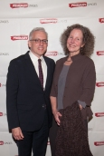 Honoree Donald Margulies and Lynn Street. Primary Stages 30th Anniversary Gala 2014 ©Hechler Photographers