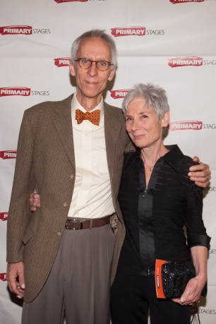 David Ives and Martha Ives. Primary Stages 30th Anniversary Gala 2014 ©Hechler Photographers