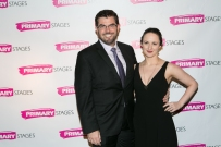 Jason O'Connell and Kate Hamill, stars of the Primary Stages production of Pride and Prejudice