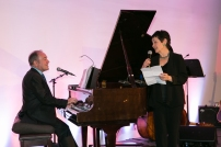 Stephen Flaherty and Lynn Ahrens perform a number from their first collaboration, Lucky Stiff