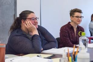 Director Amanda Dehnert and Assistant Director Bonnie Gabel