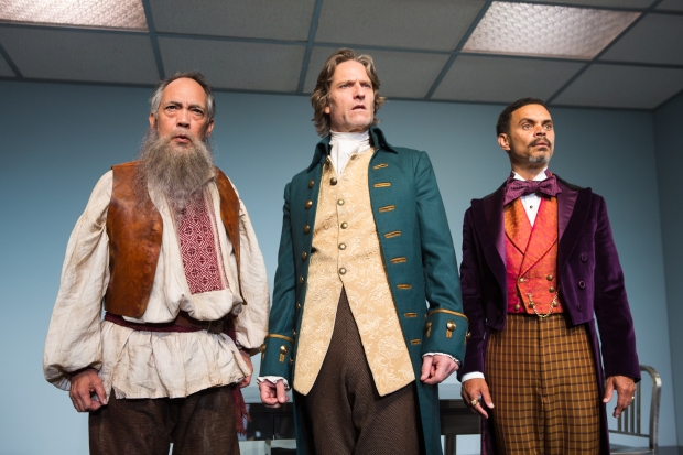 Thom Sesma, Michael Laurence and Duane Boutte in Primary Stages' production of DISCORD - photo by Jeremy Daniel.jpg